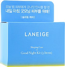 Духи, Парфюмерия, косметика Набор - Laneige Good Night Sleeping Care (lip/mask/3g + face/mask/15ml + eye/mask/5ml)