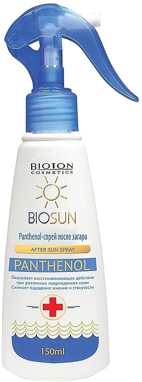 Пантенол-спрей после загара - Bioton Cosmetics BioSun