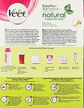 Набор для депиляции воском - Veet Easy Wax Natural Inspirations Electrical Roll-On Kit — фото N2