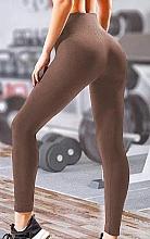"Духи, Парфюмерия, косметика Леггинсы для женщин ""Leggings Energy"", deep taupe - Giulia"