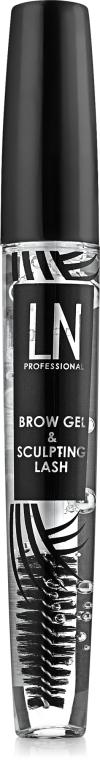 Гель для бровей и ресниц - LN Professional Brow Gel & Sculpting Lash