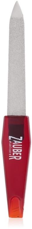 Пилка для ногтей металлическая сапфировая, 10см - Zauber