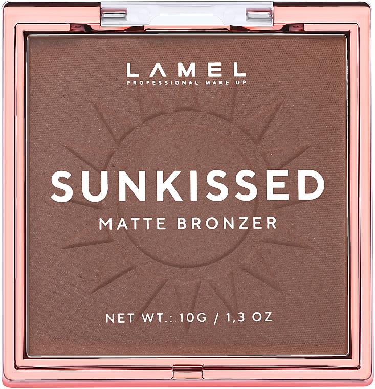 Пудра-бронзер для лица - Lamel Professional Sunkissed Matte Bronzer