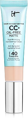 CC-крем - It Cosmetics Your Skin But Better CC+ Oil-Free Matte SPF40