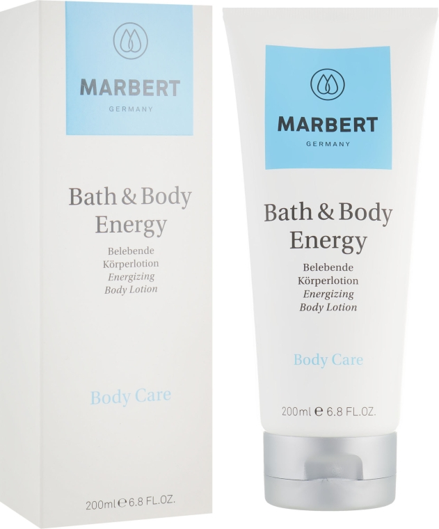 Лосьон для тела с эффектом бодрости - Marbert Bath & Body Energy Invigorating Body Lotion