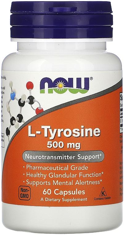 L-тирозин, 500 мг. - Now Foods L-Tyrosine