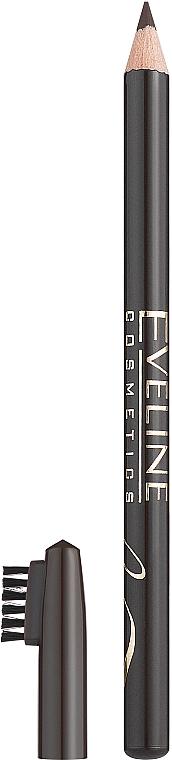 Контурный карандаш для бровей - Eveline Cosmetics Eyebrow Pencil