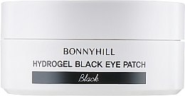 Антивозрастные черные гидрогелевые патчи - Beauadd Bonnyhill Hydrogel Black Eyepatch — фото N3