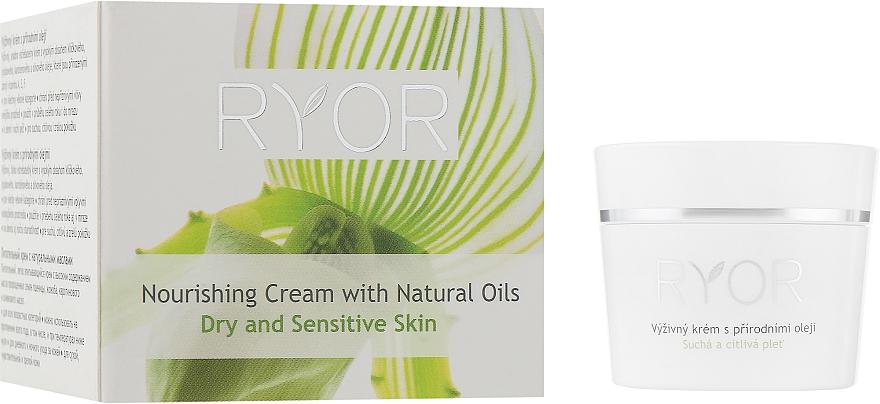 Питательный крем с натуральными маслами - Ryor Face Care