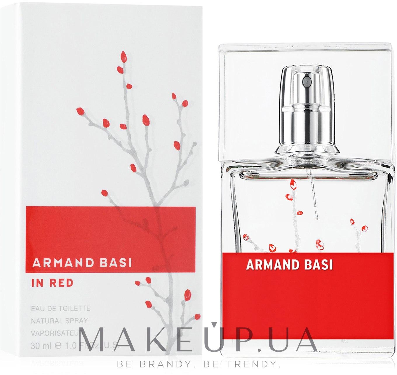 Armand Basi In Red - Туалетная вода — фото 30ml