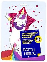 Духи, Парфюмерия, косметика Маска для зоны подбородка - Patch Holic Costopia Honey Star Double Chin Mask