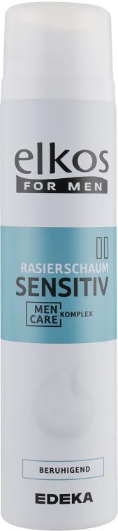 Пена для бритья для чувствительной кожи - Elkos For Men Shaving Foam Sensitive