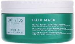 Духи, Парфюмерия, косметика Восстанавливающая маска для ломких и поврежденных волос - Euphytos Repair Hair Mask