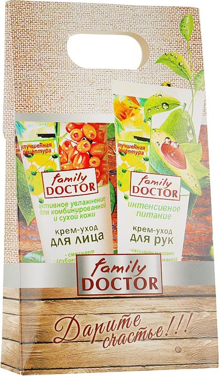 Набор - Family Doctor (face/cr/75ml + hand/cr/75ml)