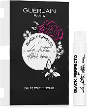 Духи, Парфюмерия, косметика Guerlain La Petite Robe Noire Black Perfecto Florale - Туалетная вода (пробник)