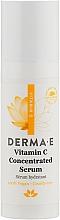 Духи, Парфюмерия, косметика Концентрированная сыворотка с витамином С - Derma E Vitamin C Serum (мини)