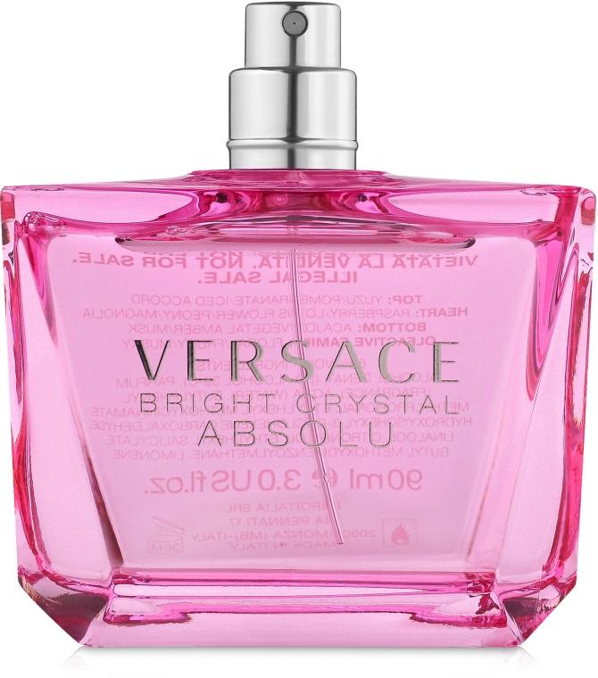 Versace Bright Crystal Absolu - Парфюмированная вода (тестер без крышечки)