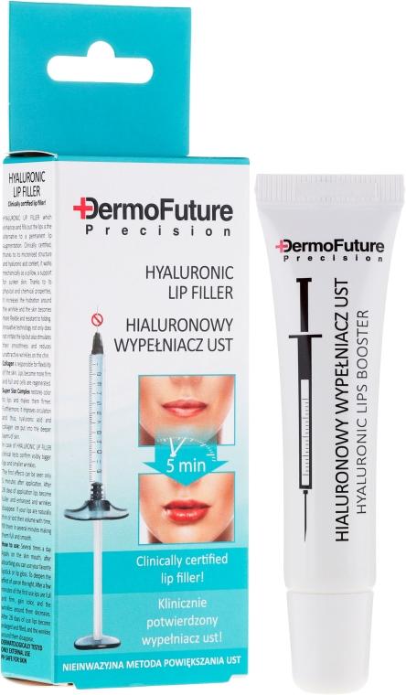 Гиалуроновый максимайзер для губ - DermoFuture Hyaluronic Lip Filler