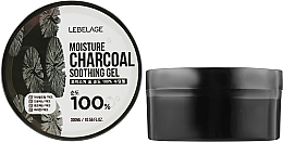 Духи, Парфюмерия, косметика Увлажняющий гель с углем - Lebelage Moisture Charcoal 100% Soothing Gel