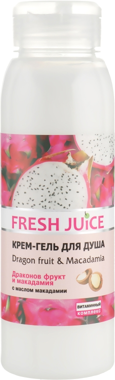 """Крем-гель для душа """"Драконов фрукт и Макадамия"""" - Fresh Juice Energy Mix Dragon Fruit & Macadamia"""