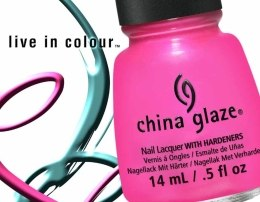 Лак для ногтей - China Glaze Nail Lacquer With Hardeners — фото N6