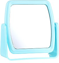 Духи, Парфюмерия, косметика Зеркало на подставке 85727, квадратное, голубое - Top Choice Beauty Collection Mirror