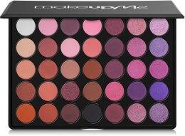 Духи, Парфюмерия, косметика Профессиональная палитра теней 35 цветов, R35 - Make Up Me