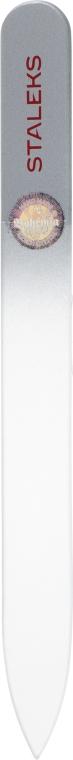 Пилочка хрустальная для ногтей, F4-12-120, серая - Staleks (12см)
