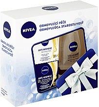 Духи, Парфюмерия, косметика Набор - Nivea Anti-Wrinkle Revitalizing Set (day/cr/50ml+night/cr/50ml+micel/water/200ml)