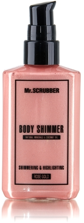 Шиммер для тела - Mr.Scrubber Body Shimmer Rose Gold