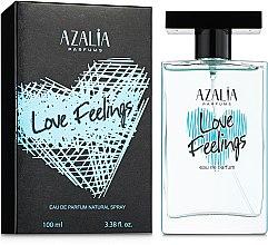 Духи, Парфюмерия, косметика Azalia Parfums Love Feelings Blue - Парфюмированная вода