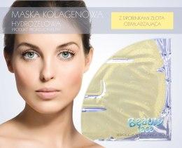Духи, Парфюмерия, косметика Коллагеновая маска с частицами золота - Beauty Face Collagen Hydrogel Mask