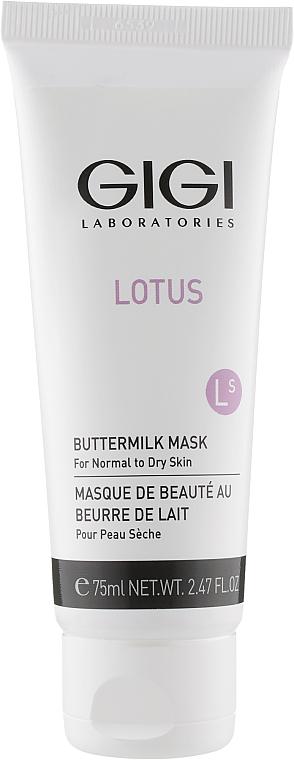 Маска для лица - Gigi Lotus Beauty Butter Milk Mask