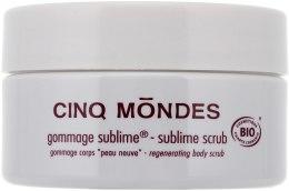 Гоммаж для тела - Cinq Mondes Sublime Scrub Bio — фото N2