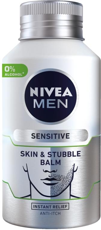 Универсальный бальзам для щетины и после бритья - Nivea Men SensitiveSkin & Stubble Balm