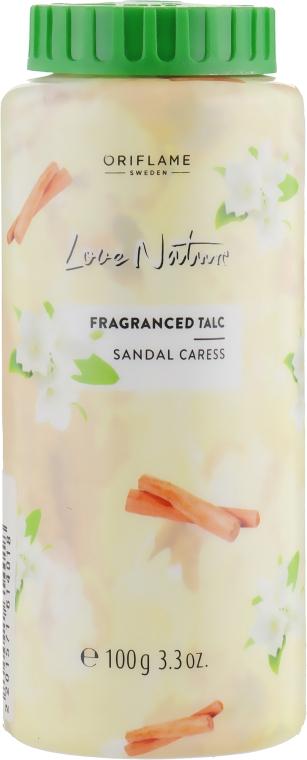 Парфюмированный тальк для тела «Нежность сандала» - Oriflame Love Nature Fragranced Talc Sandal Caress