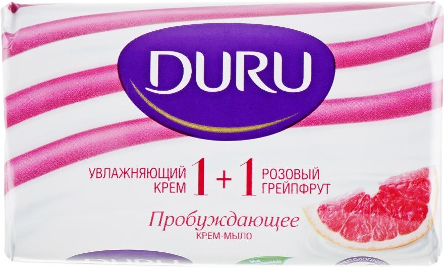 """Крем-мыло """"Розовый грейпфрут"""" - Duru 1+1 Soft Sensations"""