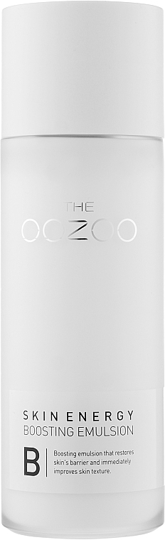 Эмульсия-бустер для упругости кожи лица - The Oozoo Skin Energy Boosting Emulsion