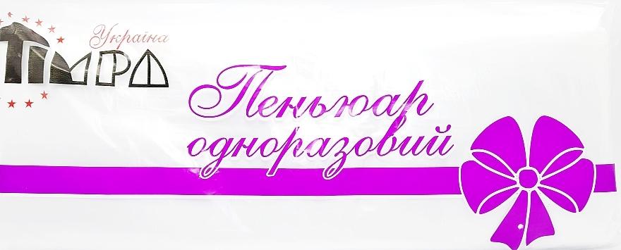 Парикмахерский одноразовый пеньюар, прозрачный - Timpa Украина