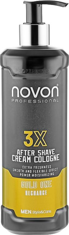 Крем после бритья - Novon Aftershave Cream Cologne Gold One