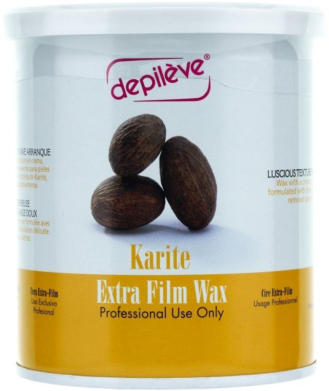 Віск з маслом каріте в банку - Depileve Film Karite Extra Wax — фото N1