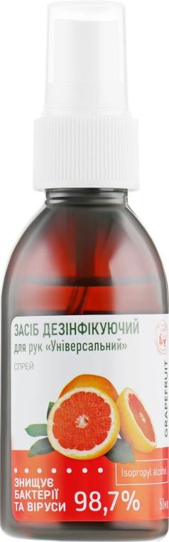 """Дезинфицирующий спрей для рук на основе изопропилового спирта 73,7% """"Универсальный"""" - Leda"""