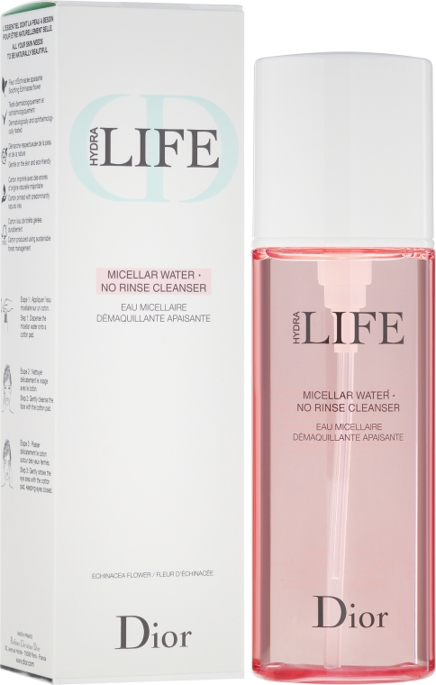 Мицеллярная вода - Dior Hydra Life Micellar Water No Rinse Cleanser — фото N1