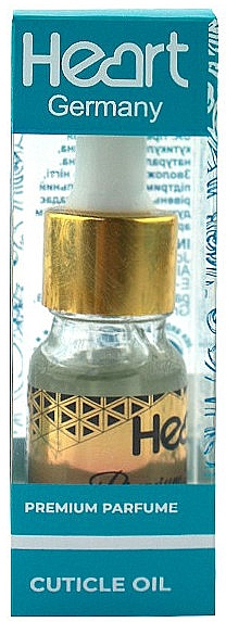 Парфюмированное масло для кутикулы - Heart Germany Miss World Premium Parfume Cuticle Oil