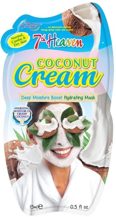 "Крем-маска для лица ""Кокос"" - 7th Heaven Coconut Cream Mask"