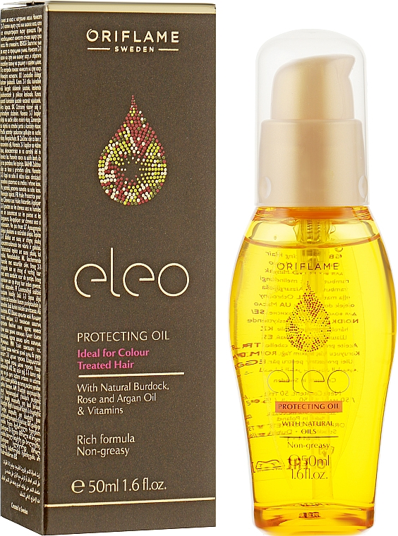 Защитное масло для волос - Oriflame Eleo Oil