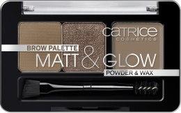 Духи, Парфюмерия, косметика Палетка для бровей - Catrice Palette Matt&Glow