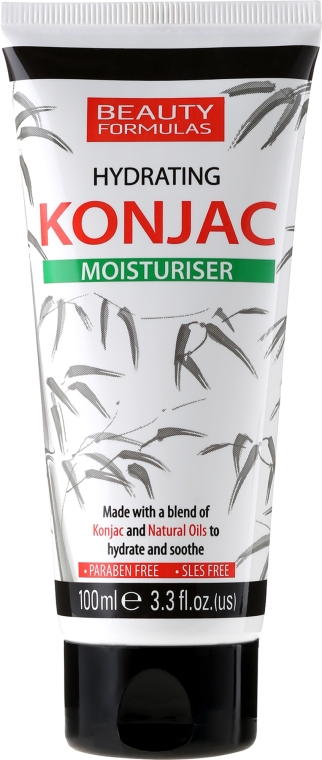 Крем для лица, увлажняющий - Beauty Formulas Konjac Hydration Moisturiser