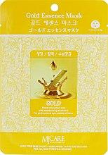 Духи, Парфюмерия, косметика Тканевая маска с золотом - MJ Care Gold Essence Mask