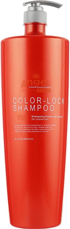 """Шампунь для волос """"Защита цвета"""" - Angel Professional Paris Expert Hair Color-Lock Shampoo"""
